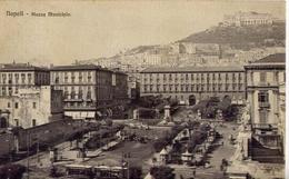 Napoli - Piazzsa Municipio - Formato Piccolo Viaggiata - Ad - Napoli