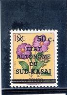 Sud-Kasaï - N°4 Avec Curiosité Pas De Point Sur Ï De Kasaï - XX/MNH (à Voir) - South-Kasaï