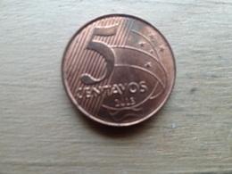 Bresil  5  Centavos  2013  Km 648 - Brasil
