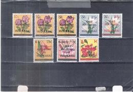 Sud-Kasaï - 8 Valeurs Différentes De La Série Fleurs - XX/MNH (à Voir) - South-Kasaï