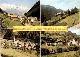Urlaubsgrüße Aus Hopfgarten In Defereggen - 4 Bilder (9961/2) - Defereggental