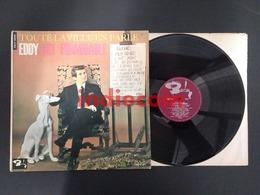 33T EDDY MITCHELL Toute La Ville En Parle Eddy Est Formidable 1964 FRANCE LP - Vinyl Records