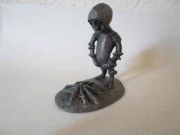 """Figurine Artisanale  """" Don Quichotte """" étain Véritable """" Michel Daule - Sculptures"""