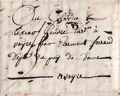 26 Frimaire An  4 - L.A.S. TIXIER Gendre Pour TIXIER Gendre Marchand De VINS à AVAYZE (AVEZE-63) - Historische Documenten