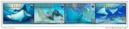 (WWF-435) W.W.F. Mayreau Spotted Eagle Ray / Fish MNH Stamps 2009 - W.W.F.
