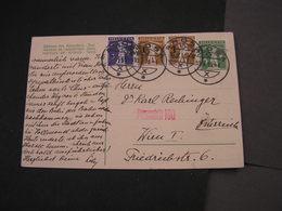 CH Zensur Arosa Nach Österreich Feldkirch Karte 1916 - Entiers Postaux