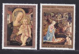 CENTRAFRICAINE AERIENS N°  108 & 109 ** MNH Neufs Sans Charnière, TB (D7258) Tableaux Religieux - Zentralafrik. Republik