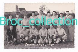 Le Montet, 03, équipe De Football 1949 - 1950, Photographe Studio Marcel Lépée, Tronget, Foot - France