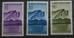 1947 Türkei 1199/1201** Eisenbahn (Komp.Ausgabe) Siehe Bild (GA14 - Trains