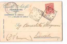 8243 01 CASELLI CEREALI MOLINO IN CORLO - FORMIGINE X LAVEZZOLA - Marcophilia
