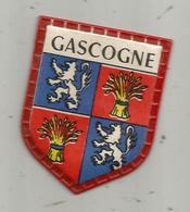 écusson Plastique , GASCOGNE, Fromageries FINAS , Collection Des Blasons De France , 1 E Série : Les Provinces , N° 47 - Advertising