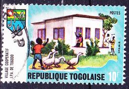 Togo - Landwirtschaft Wohnhaus (MiNr: 741 A) 1970 - Gest Used Obl - Togo (1960-...)