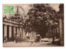 GF Carte Maximum 160, Allemagne Deutsche Post 1952 Berlin Kolonnaden Am Kleistpark - Maximum Cards