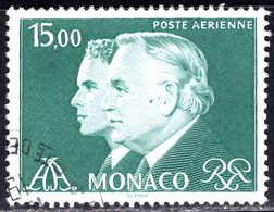 Monaco - 1982 -  Rainier III Et Albert   - PA 102  - Oblit    - Air Mail - Used - Airmail