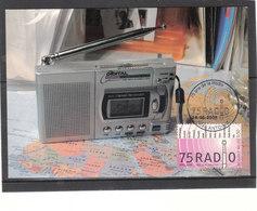 3415 75 Ans De La Radio - Maximum Cards