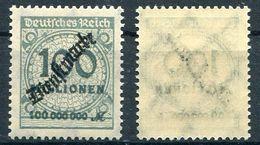 D. Reich Dienst Michel-Nr. 82 Postfrisch - Officials