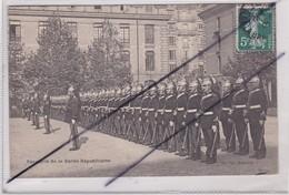 Cavalerie De La Garde Républicaine - Régiments