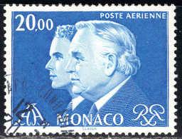 Monaco - 1982 -  Rainier III Et Albert   - PA 103  - Oblit    - Air Mail - Used - Airmail