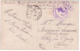 Carte MALTE FM Pétrolier TSAR NICOLAS II 1914 MARINE Service à La Mer Cachet PARIS RP étranger (= Valise Diplomatique) - Postmark Collection (Covers)