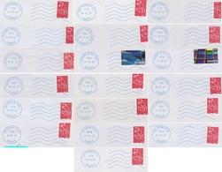 Lot De 19 Neopost Avec Indication De Département (NDE) : De 52 à 56 - Mechanical Postmarks (Other)