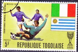 Togo - Fußball-WM Mexico (MiNr: 792 A) 1970 - Gest Used Obl - Togo (1960-...)