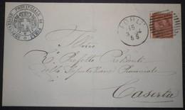 Annullo Numerale FORLI' Cannocchiale Numerali Emilia - 1861-78 Vittorio Emanuele II