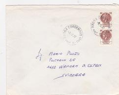 Brief In Die Schweiz (br4018) - 6. 1946-.. Republic