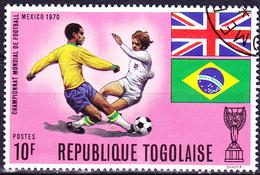 Togo - Fußball-WM Mexico (MiNr: 793 A) 1970 - Gest Used Obl - Togo (1960-...)