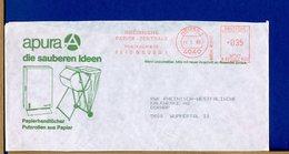 DEUTSCHE - EMA - NEUSS - APURA - SAUBEREN IDEEN - PAPIER - PUTZROLLEN - CARTA PULIZIA ROTOLO - Factories & Industries