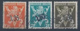 724 DD EE FF  Obl.         Cote  30.00 - Belgium