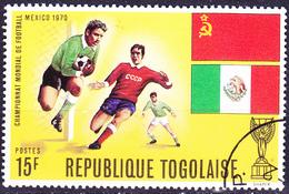 Togo - Fußball-WM Mexico (MiNr: 794 A) 1970 - Gest Used Obl - Togo (1960-...)