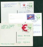 Yugoslavia 1998 1997 2000 Red Cross Stamp On Postcards Stationery - Slovenia