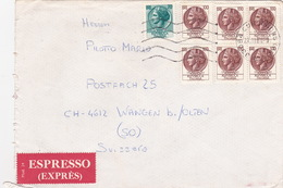 Brief In Die Schweiz (br4028) - 6. 1946-.. Republic