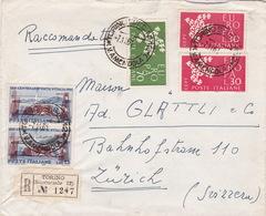 Brief In Die Schweiz (br4037) - 6. 1946-.. Republic