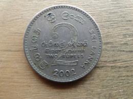 Sri Lanka  2 Rupees   2002  Km 147 - Sri Lanka