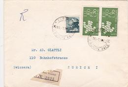 Brief In Die Schweiz (br4040) - 6. 1946-.. Republic