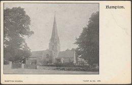 Bampton Church, Oxfordshire, C.1900-05 - Taunt & Co U/B Postcard - England