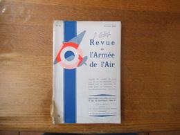REVUE DE L'ARMEE DE L'AIR FEVRIER 1934 - Livres