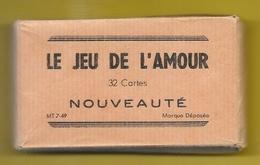 "32 Cartes ""LE JEU DE L'AMOUR"" Coquin Erotique - 32 Cards"