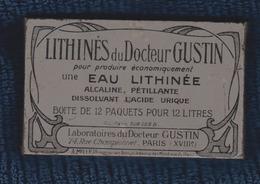 BOITE ANCIENNE EN TOLE LITHINES DU DOCTEUR GUSTIN Paris XVIII Poudre Pour Produire De L' Eau Gazeuse - Boxes
