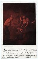 SOCIAL HISTORY : THE VILLAGE SMITHY (TUCK'S) / POSTMARK - AYR - Professions