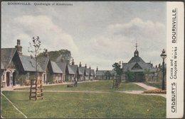 Quadrangle Of Almshouses, Bournville, Warwickshire, C.1905-10 - Cadbury's Postcard - Birmingham