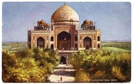 INDIA : DELHI - HUMAJONS TOMB (TUCK'S OILETTE) - India