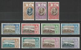 Oubangui Yv. T12-22, Mi P12-22 * - Oubangui (1915-1936)