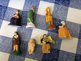 7/12 Feves Mates Et Dorées Creche Nativite Renaissance 2004 Prime D'apres... - Santons