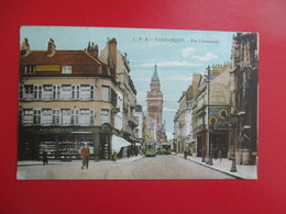 CPA 59 DUNKERQUE RUE CLEMENCEAU COMMERCE TRAMWAY - Dunkerque