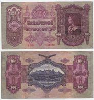 Hungary P 98 - 100 Pengo 1.7.1930 - VF - Ungheria