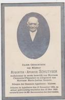 APPELTERRE-EIJCHEM-AUGUSTUS-APURIUS SCHUTYSER-SCHEPEN-FOTO-PRENTJE+1920-ZIE 2 SCANS-MOOIE STAAT ! ! ! - Images Religieuses