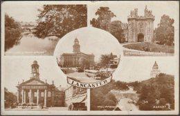 Multiview, Lancaster, Lancashire, 1953 - Valentine's RP Postcard - England
