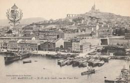 Dép. 13. Marseille. - N.-D. De La Garde, Vue Du Vieux Port. ED. Spéciale De La Basilique N° LIX - Vieux Port, Saint Victor, Le Panier